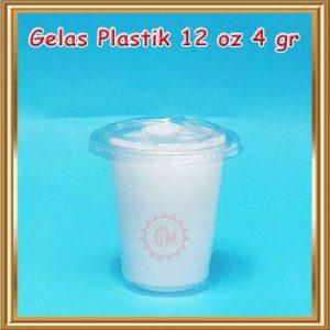Galas Plastik 12 Oz