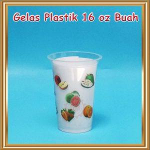 Gelas Plastik Printing 16 Oz