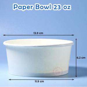 Paper Bowl 23 Oz Murah