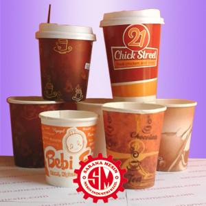 Paper Cup 8 Oz + Printing Logo