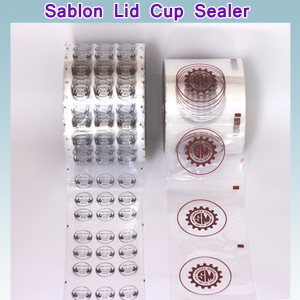 sablon plastik cup sealer