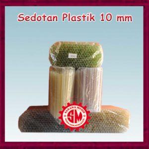 Sedotan Plastik 10 mm