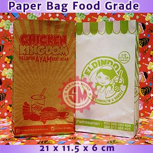 Paper Bag Makanan Food grade Murah