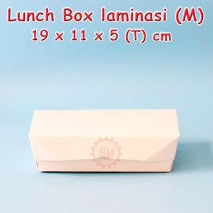Kotak Nasi Kertas / Lunch Box M