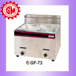 Deep Fryer gas 2x5L