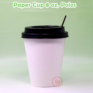Paper cup 8 Oz Hot, Polos