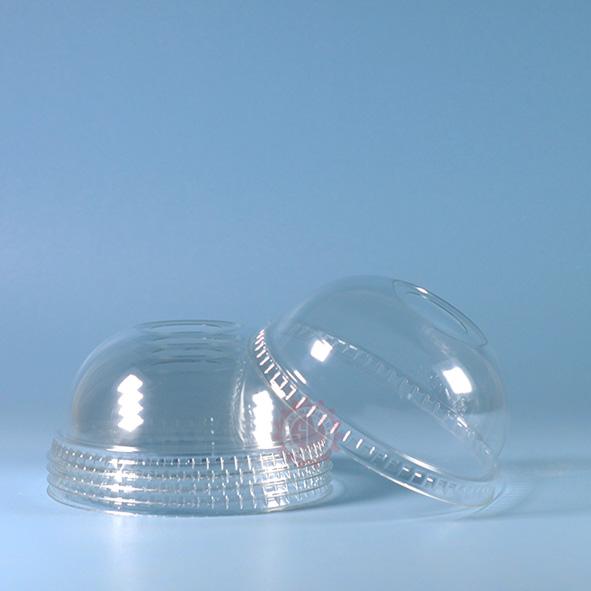 Tutup Gelas Plastik Cembung (dome)