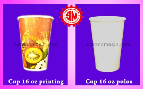 printing paper cup 16 oz