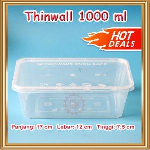 Thinwall 1000 ml (kotak plastik)