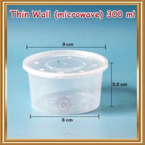Thinwall 300 ml (bulat)