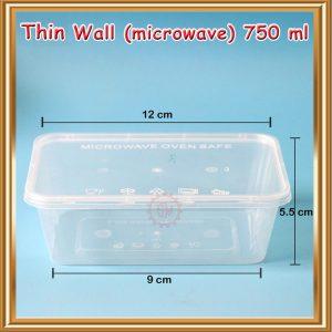 Thinwall 750 ml ( Model Kotak )